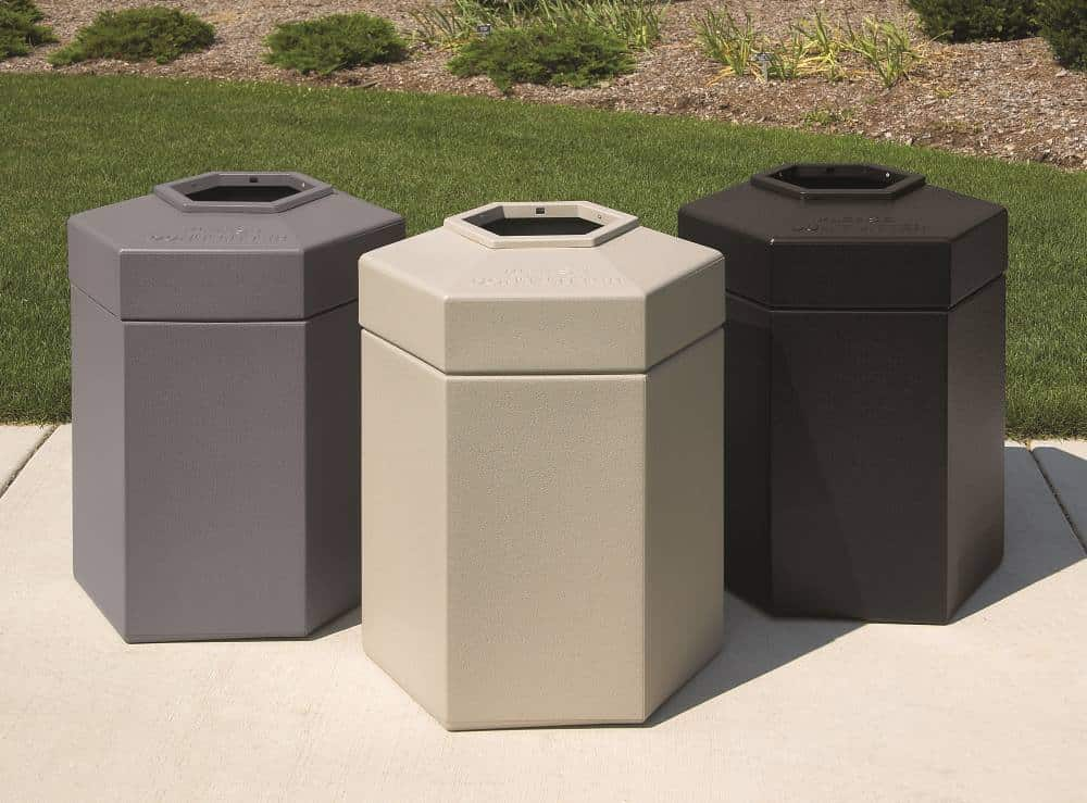 Property Management Trash Receptacles - Commercial Zone Products
