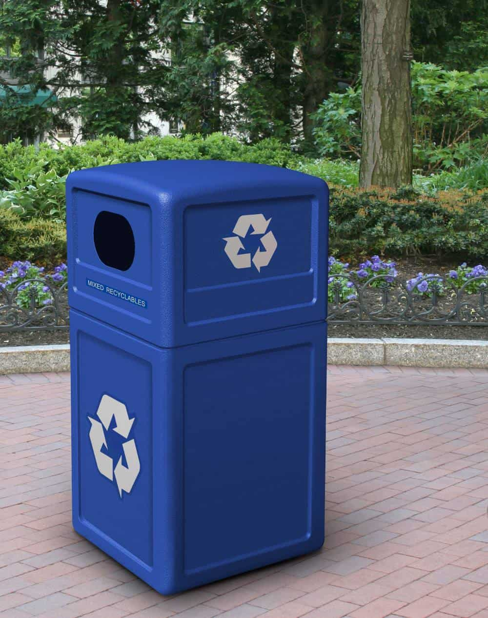 Recycling Bin - Green Zone | Commercial Zone Products