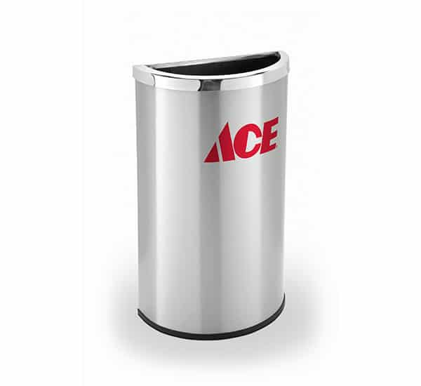 Ace Custom Branded Trash Can | Commercial Zone