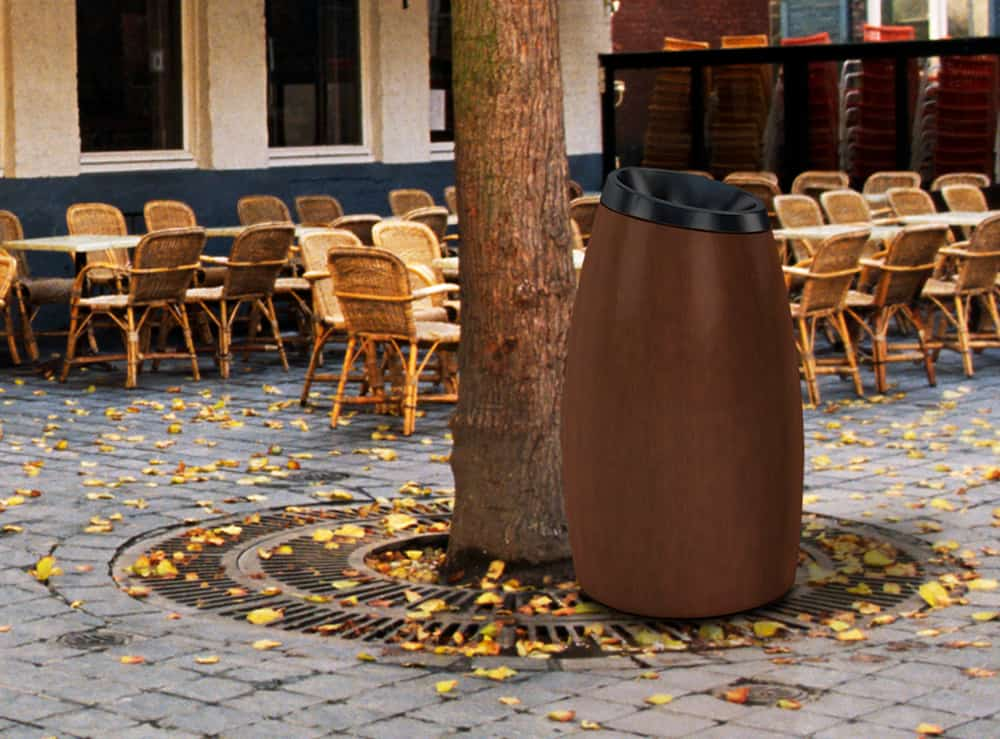 Food Service Litter Receptacles - Commercial Zone Products