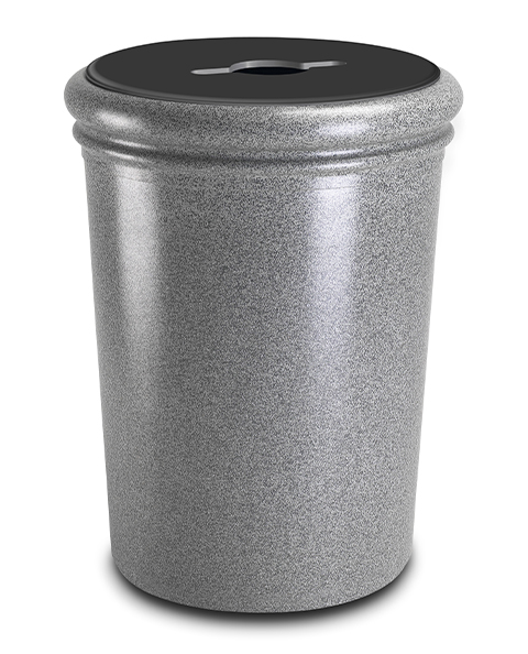 StoneTec-Round-Mixed-Recycling-Open-Top-Container-Ashtone-Slot-with-Circle-720817